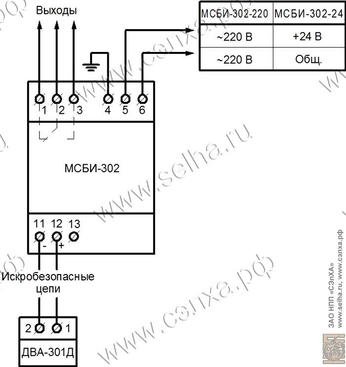 Схема электрическая соединений